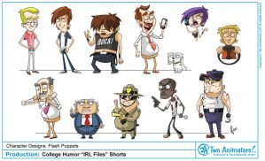 College Humor Characters by 2Ajoe