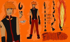 Faust Pyre: {RWBY OC} by Ezien