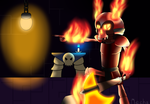 [Terraria] Hell Armoured Bones by Mechanized515