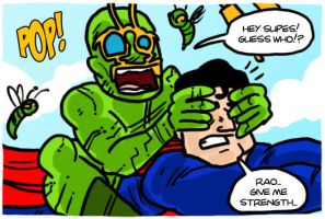 Ambush Bug comics by theEyZmaster