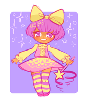 Magical girl me by xtraZenny