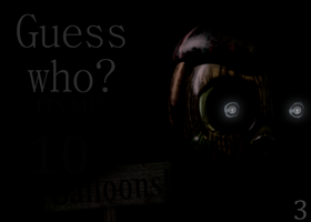 FNAF3 Teaser Remastered: Guess Who? by FredbearTheAnimatron