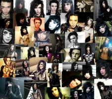 Andy Biersack Collage by LadyAnime13