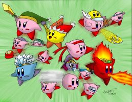 Kirbys Aplenty Kirbys Galore by comok64