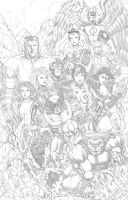 X Men by Diarmuid by Diarmuid