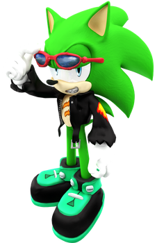 New Scourge Model render by Nibroc-Rock