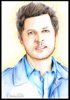 Misha Collins by TimelordLoki
