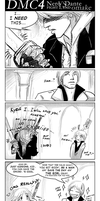 DMC4 Nero VS Dante omake by croaky