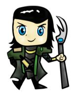 Loki Chibi by traveling-adventurer