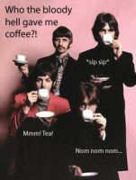 The Beatles- Coffee Incident by RingosGirl64