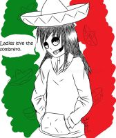Sombreros are cool. by IrkenDefective