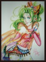 Watercolor Terra FFVI by Lemia