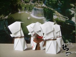 Assassin's Creed Origami n.1 by NocturnaDraco