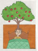 Nathan's Apple Tree by angelacapel