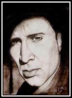 Nicolas Cage by Bluecheeze
