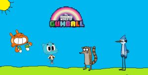 The Regular World of Gumball Crossover by Gumball2349