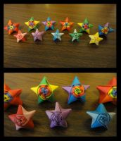 Rainbow Stars by miharujenn