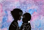 Tamako Love Story Fanart - Galaxy themed ( #420 ) by Shannenthefox