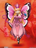 Blossom fairy queen. by 14ladybuggirl