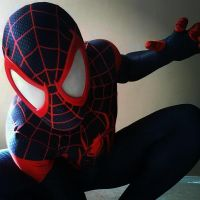 miles morales ultimate spiderman cosplay 2 by ultimateEman