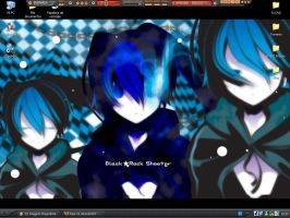Black Rock Shooter by feka