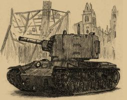 KV-2 by TimSlorsky
