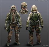 Character Concept - 02 by randis