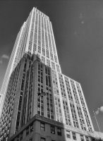 Empire State Building by supercavie