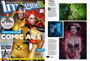 ImagineFx feature #2 by Lady-Symphonia