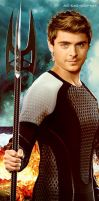 Zac Efron as Finnick by Soph-LW