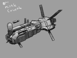 Somtaaw Missile Corvette by Norsehound