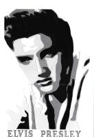 A5 Elvis Presley by agnesw62