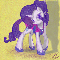 Rarity by scarletvye