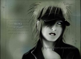 RUKI - Black, scattered Sugar by nightfalldream