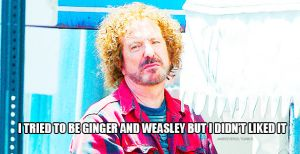Alan Rickman tried to be ginger by MarySeverus