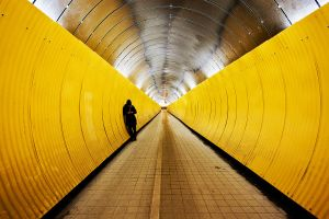 Tunnel Vision II by calleartmark