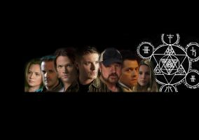 Supernatural Team Free Will by Alec-X5-494