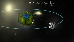Concept Craft #6 - Minecraft Space Program by Thrustwolf