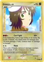 Hetalia Card: Greece by Demmi-chan