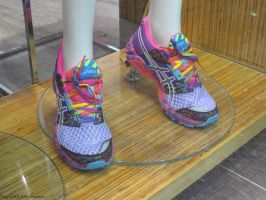 rainbow shoes by angela808