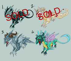 Dragon Design Adoptables CLOSED by Rufinator