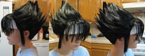 Hiei Wig Commission Progress by xHee-Heex