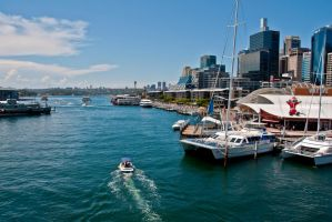 Sydney Harbour by StephUnplugged