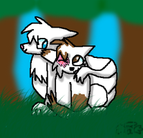 CE:Brightheart And Cloudtail by GrowlitheArtistGirl