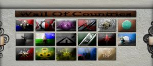 Wall of Countries by Siphen0
