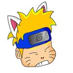 Kitty Naruto Colored by lolopo