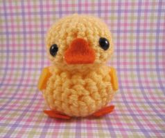 Amigurumi Yellow Duckie by AmiTownCreatures