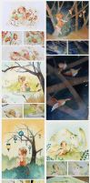 Watercolors [tumblr] by Rozenng