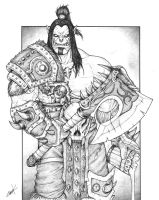 Warcraft - Grom Hellscream by KrumpZero