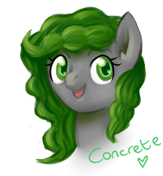 Concrete -art trade- by Cartesia-Dawn